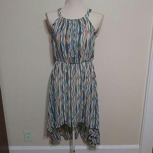 Spring high low dress